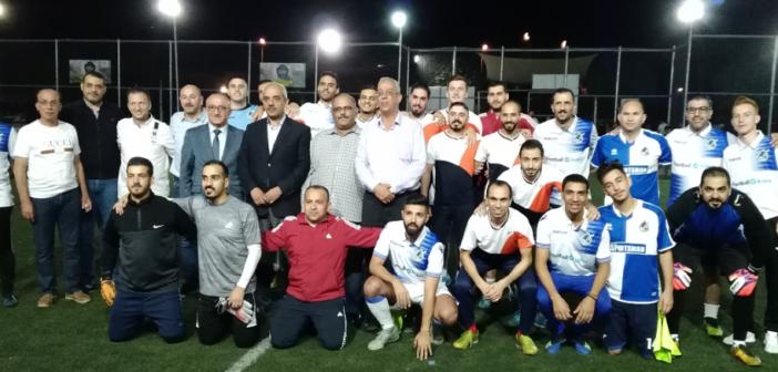 بنك الاستثمار العربي الأردني يتوج ببطولة النقابة لسداسيات كرة القدم